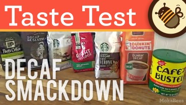 Best Decaf Coffee Taste Test – We Review & Compare Decaffeinated Coffee Brands
