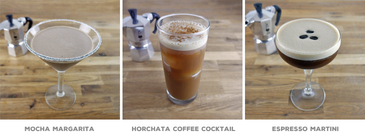 coffee espresso cocktails & recipes