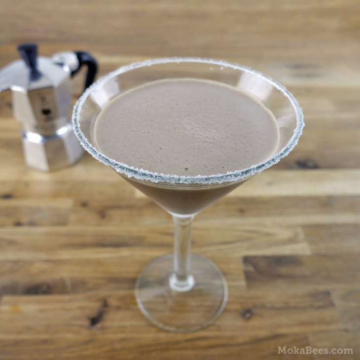 coffee cocktail - mocha margarita