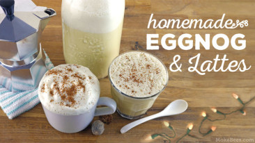 how to make eggnog latte recipe