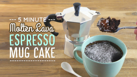 Chocolate Espresso Mug Cake Recipe