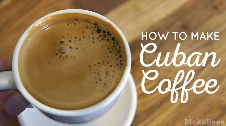 Cuban Coffee Recipe - Cafe Cubano