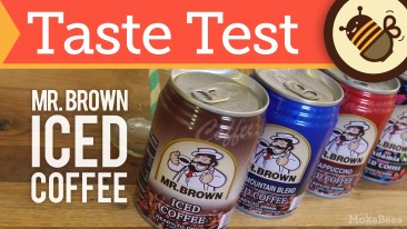 Mr. Brown Iced Coffee Review: Taste Test of 4 Flavors from my Asian Market