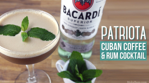 Patriota (Cuban Coffee and Rum Cocktail)